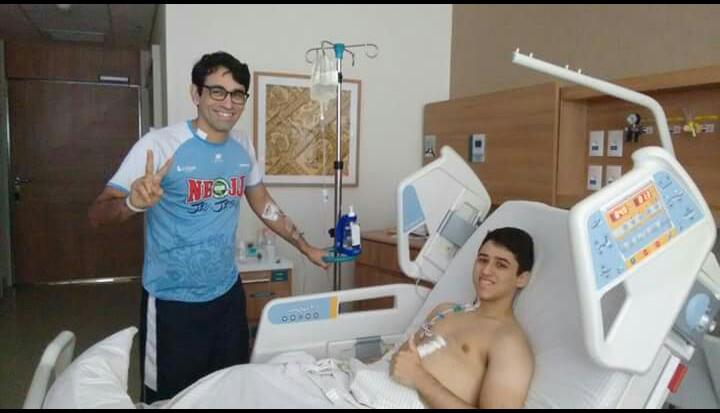 Professor de Natal doa 70% do fígado para jovem