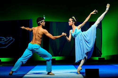 Temos a melhor bailarina do Norte-Nordeste
