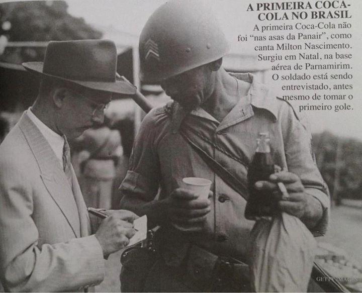 Sabia que a Coca-Cola chegou em Natal primeiro?