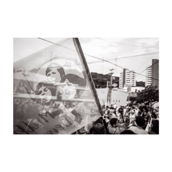 Registro fotográfico de Everson Andrade sobre a greve geral