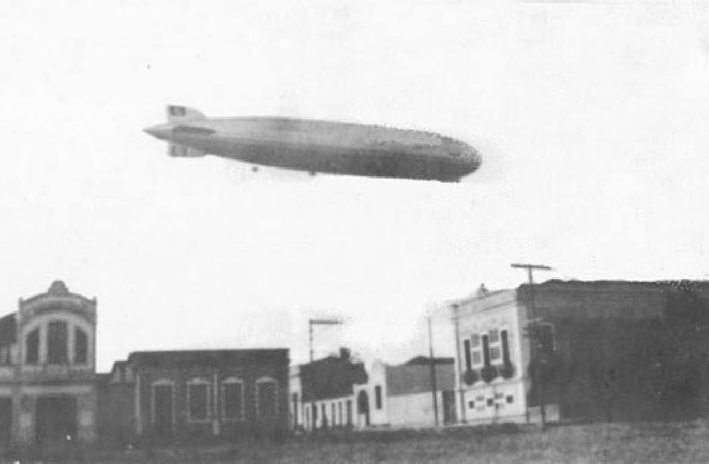 Dia que o Gref Zeppelin andou por Natal