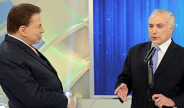 Silvio Santos e o seu flerte com a política não é de hoje
