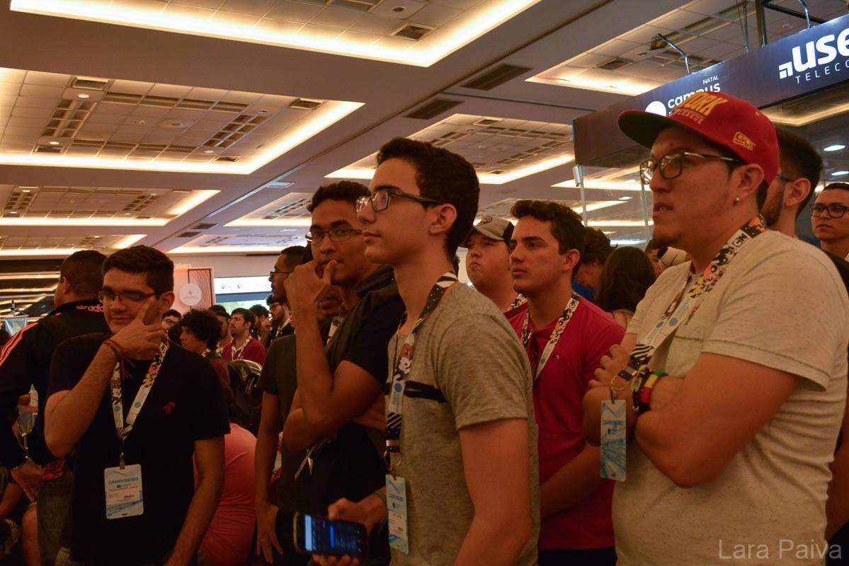 De onde surgiu o grito de guerra da Campus Party?