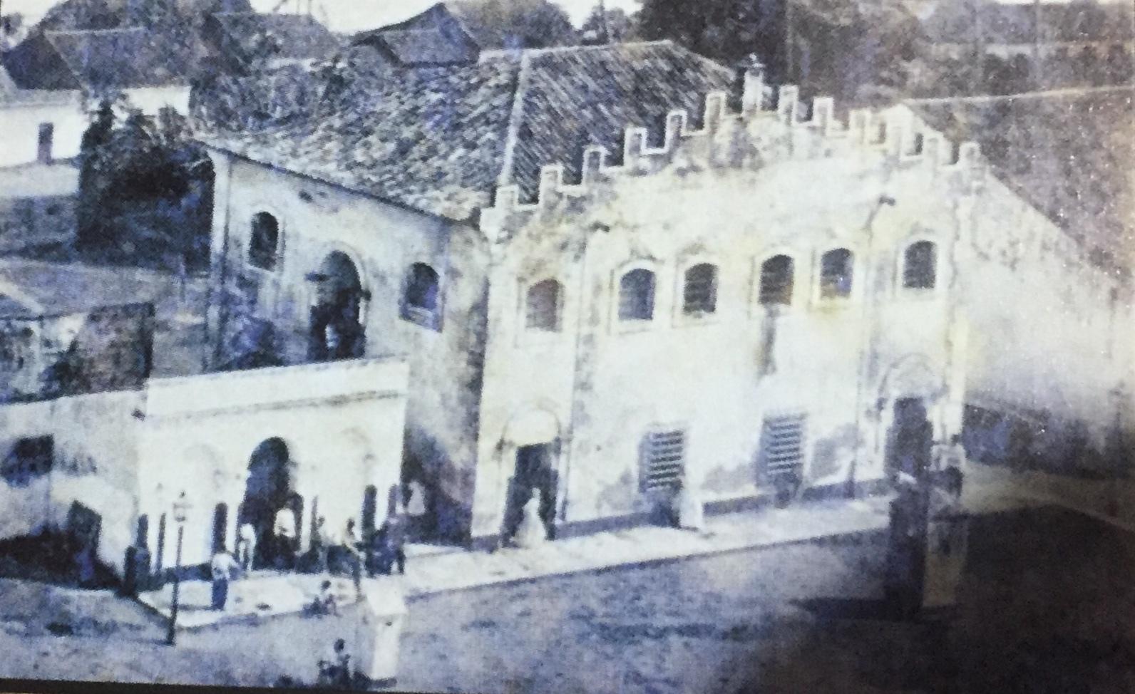 Cadeia de Natal já foi localizada na Praça André de Albuquerque