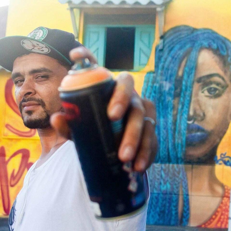 Natal rola uma exposição que mistura samba e graffiti