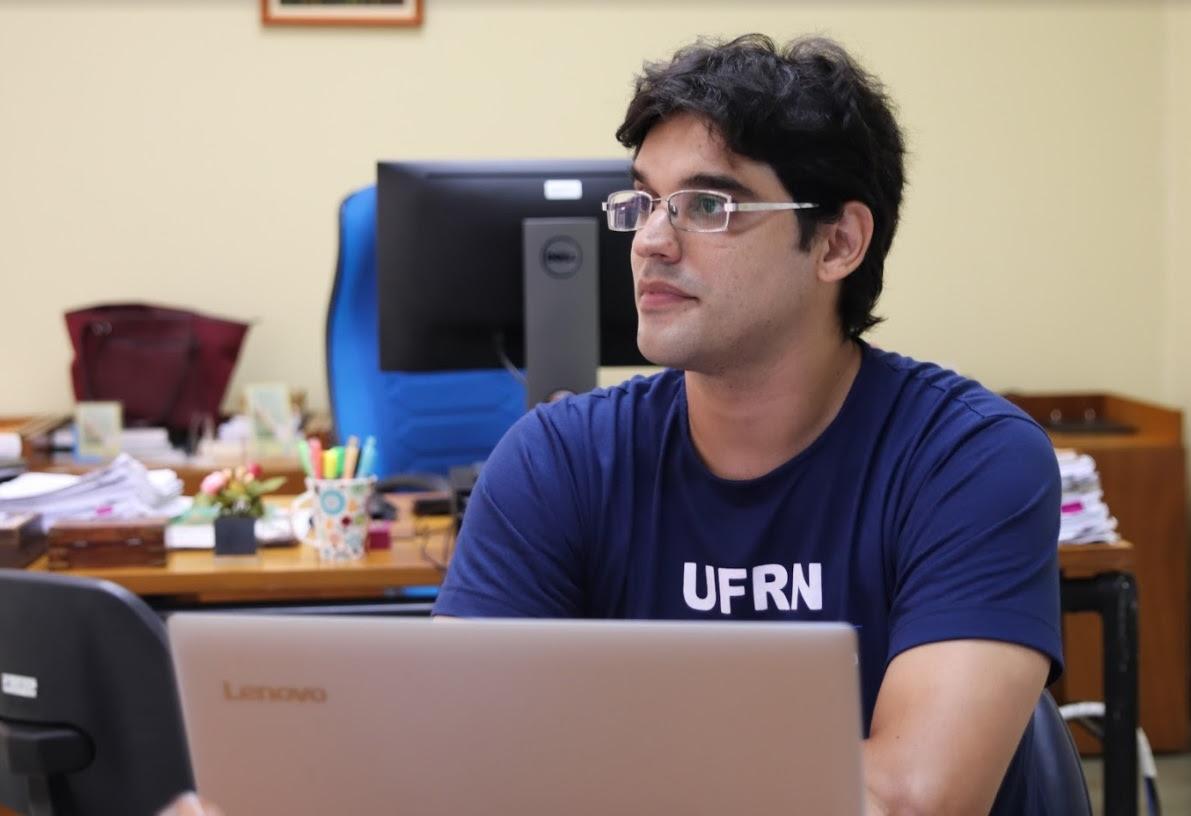 Servidor da UFRN cria um aplicativo que mostra o mapa do campus e os seus departamentos
