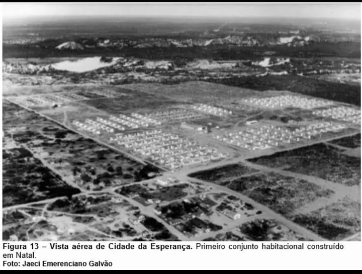 Como era a Cidade da Esperança nos anos 60