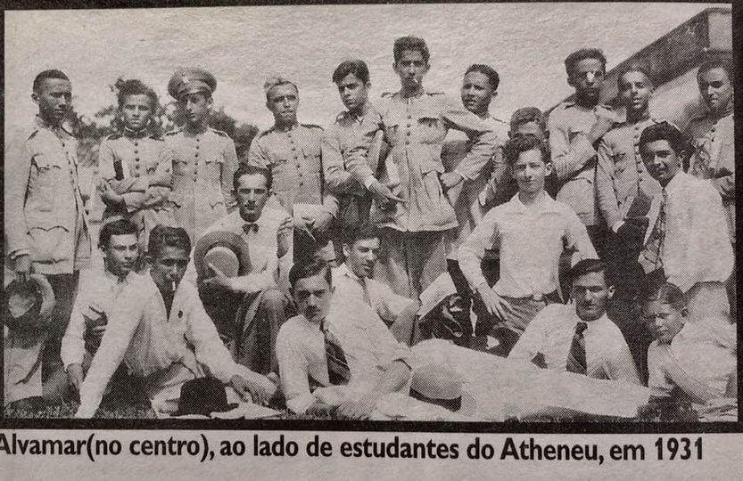 Estes eram os alunos do Atheneu de 1930