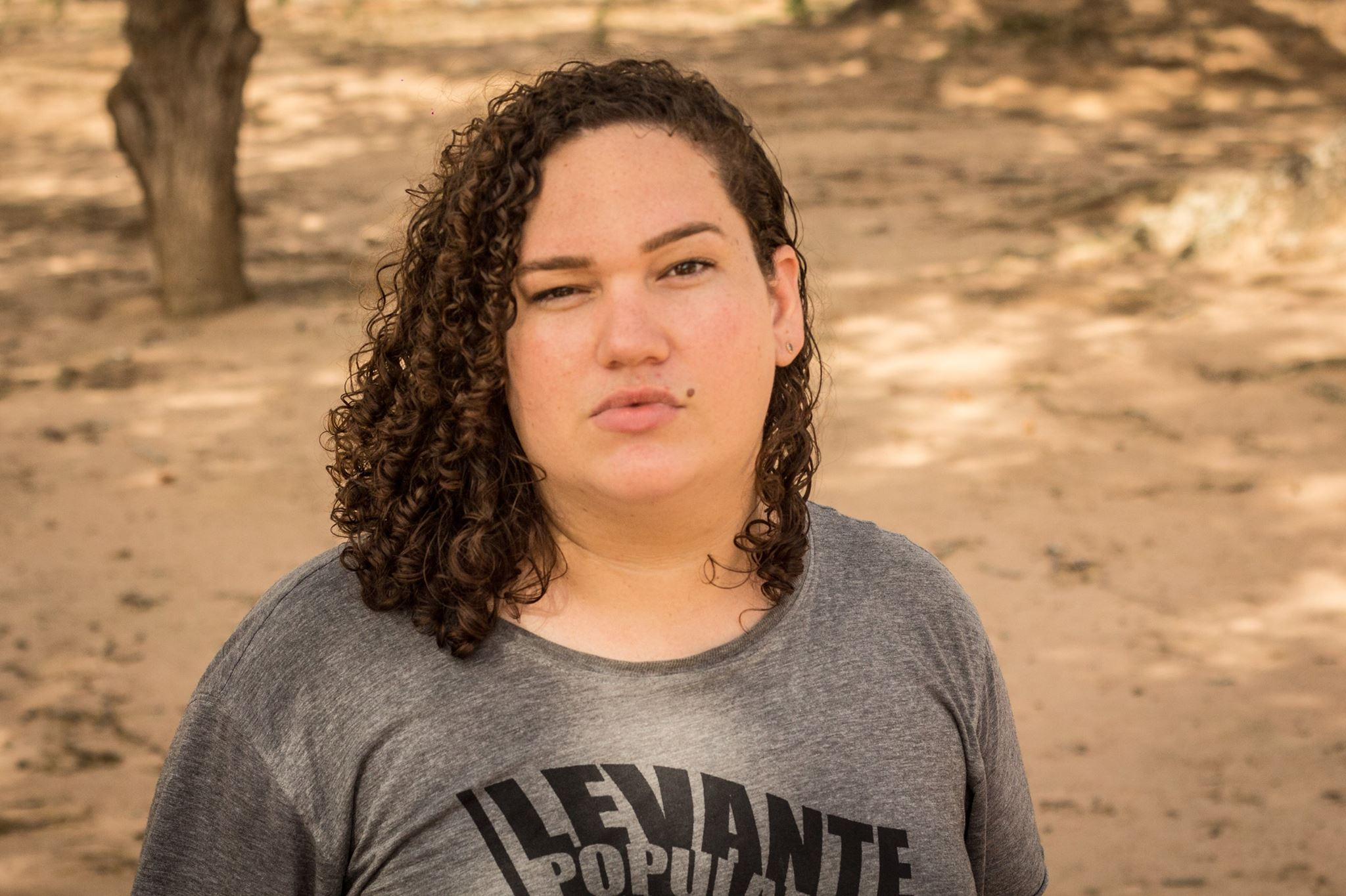 Janaína Lima - jornalista. Além disso, ela é coordenadora de Diversidade Sexual e de Gênero da Secretaria de Mulheres