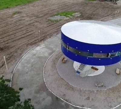 casa disco voador RN